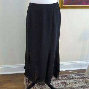 Adrianna Papell Evening Essentials black skirt 10P